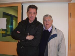 From left:  Jonathan Robinson and Derek Martin. Photo: Faith Spear