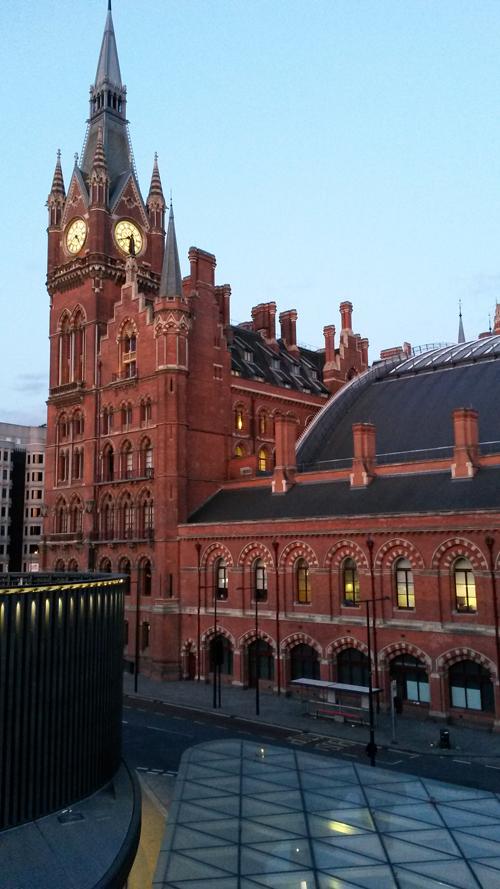 St Pancras Rail Station London