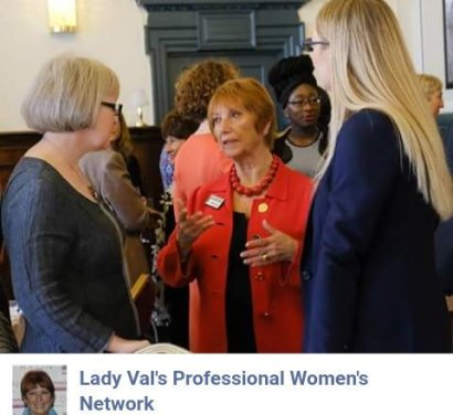 Lady Val networking lunch