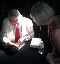 Terry Waite in London on Thursday 19th July 2018