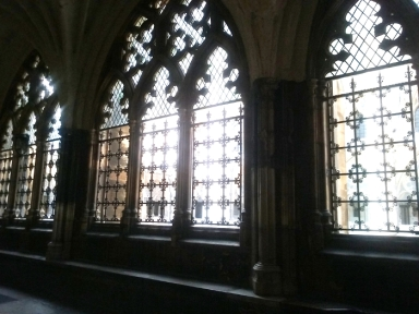The Cloisters at Westminster Abbey, London